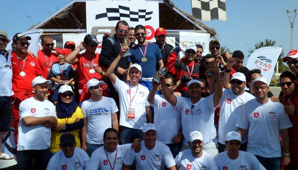 """4ème manche du championnat """"Tunisia Kart Trophy 2013"""""""