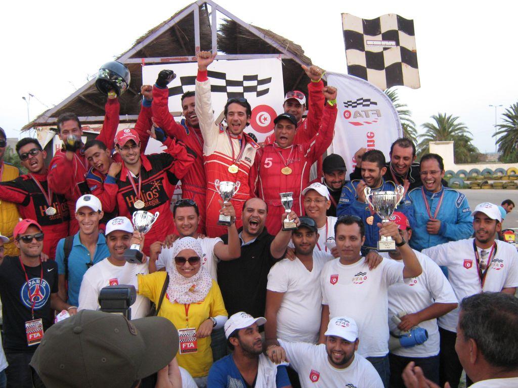 5ème et FINALE de Tunisia Kart Trophy 2013
