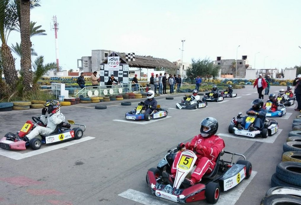 1ère manche du Tunisia Kart Trophy 2014
