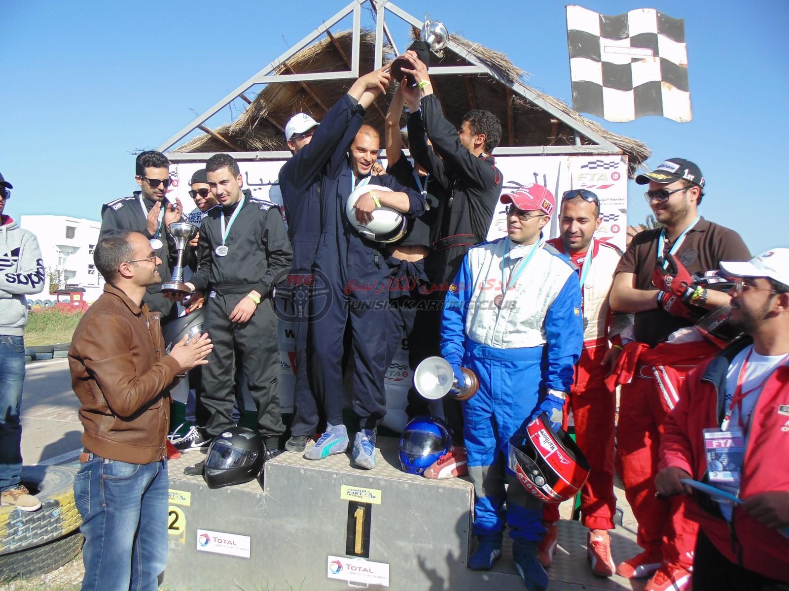 Résumé : Deuxième manche de Tunisia Kart Trophy 2015