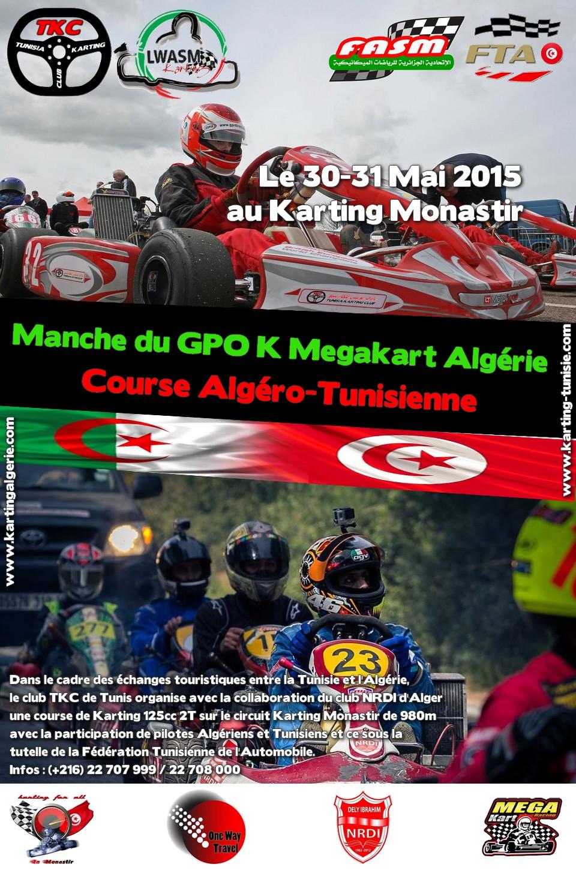Course Karting 125cc Algéro-Tunisienne