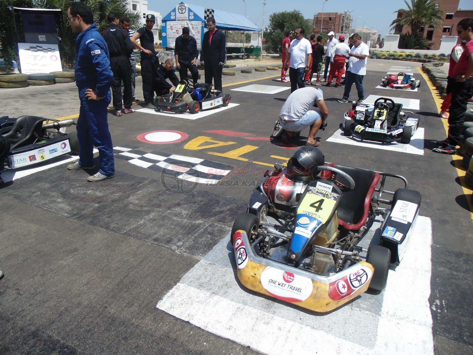 Résumé de la 4ème manche du championnat Tunisia Kart Trophy 2015