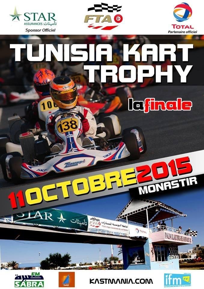 La finale : Tunisia Kart Trophy 2015 – Manche 6