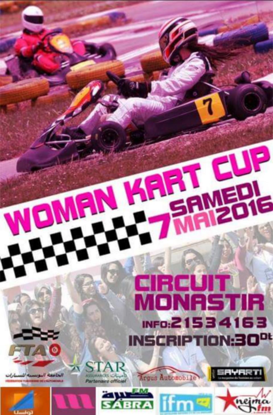 Manche 1 – Woman Kart Cup 2016 – 2ème Edition