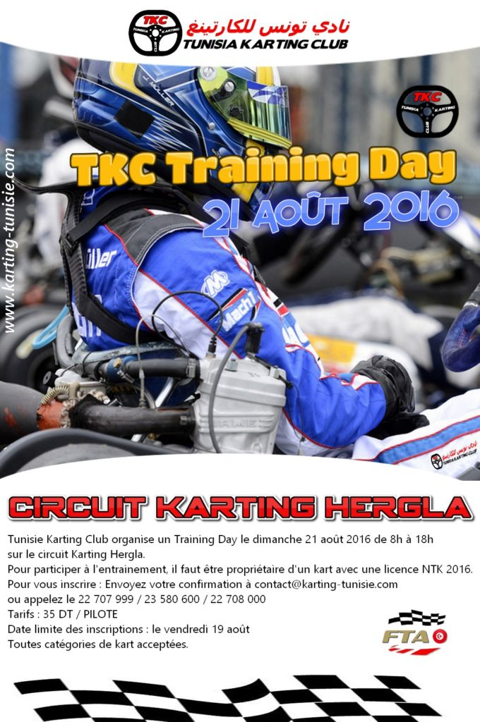 Affiche training Day 6