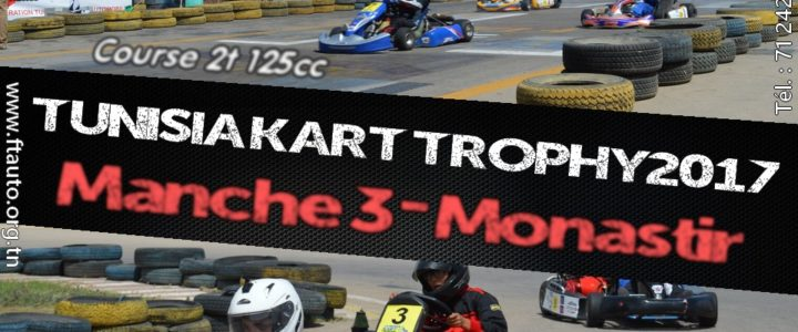 Manche 3 – Tunisia Kart Trophy 2017
