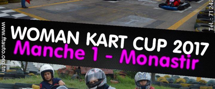 Manche 1 – Woman Kart Cup 2017