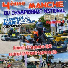 Manche 4 – Tunisia Kart Trophy 2019