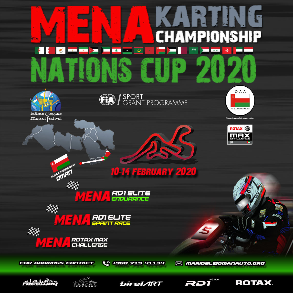 MENA Karting Championship Nation Cup 2020