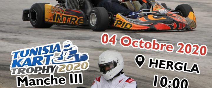 Manche 3 – Tunisia Kart Trophy 2020, reportée