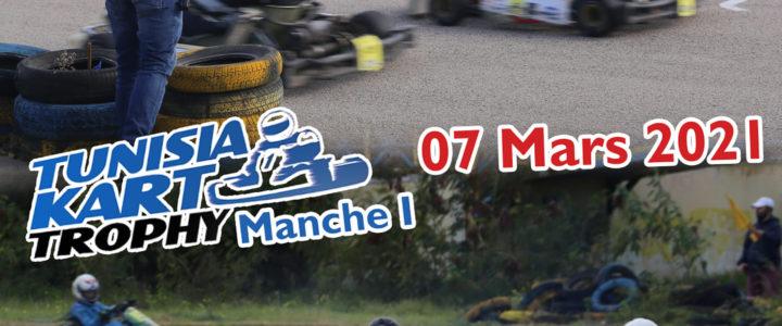 Tunisia Kart Trophy 2021, Manche 1