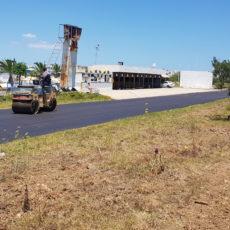 Revêtement de la piste de Karting Hergla, 8 juin 2021