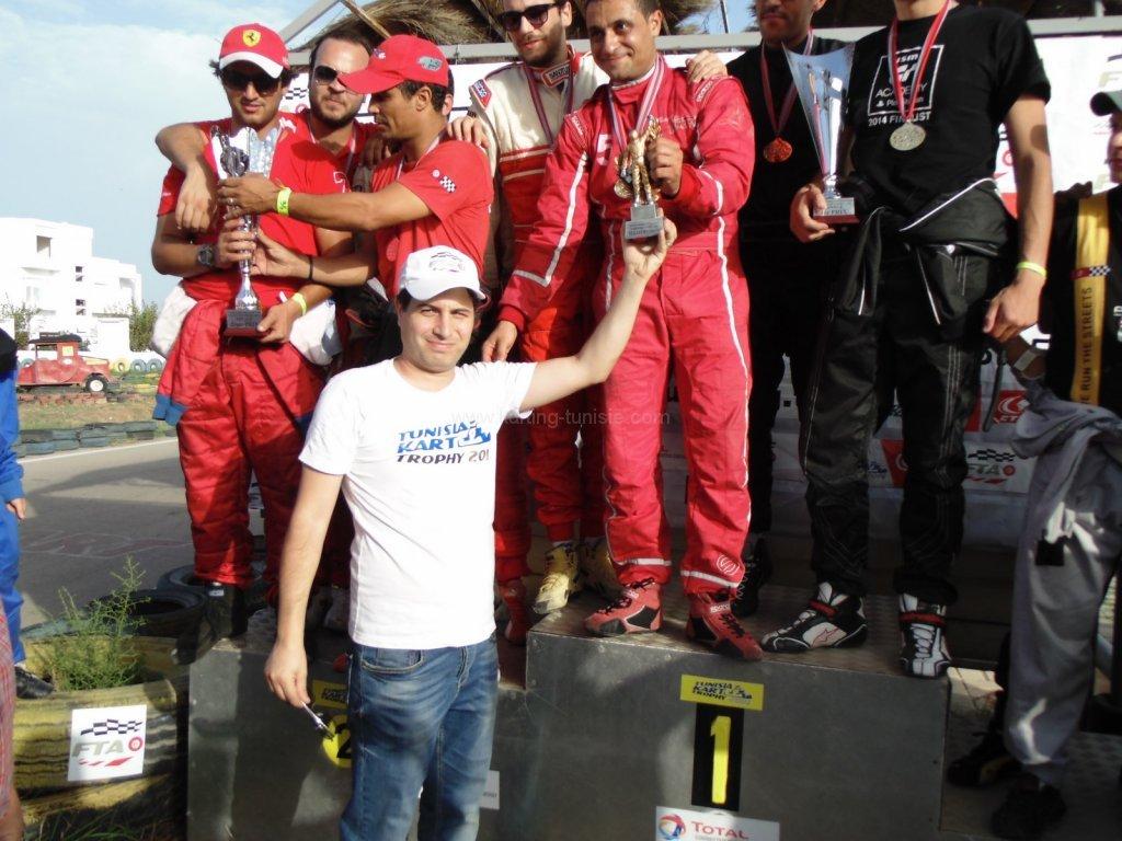 La finale de Tunisia Kart Trophy 2014